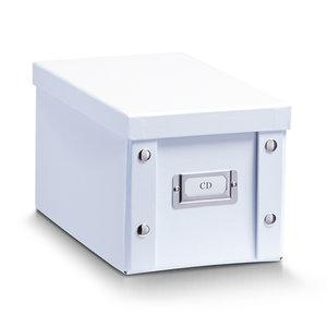 Opbergbox met deksel wit Zeller