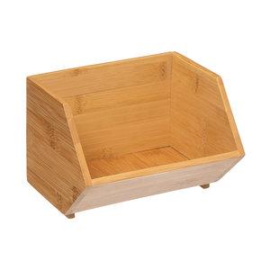 Bamboe bakjes stapelbaar Five®