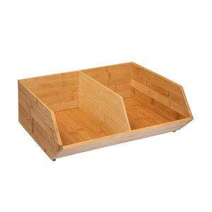 Bamboe bakje C (35 x 31 x 12,5 cm) Five®