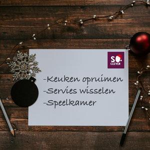 Huis opruimen: get organized voor de feestdagen!