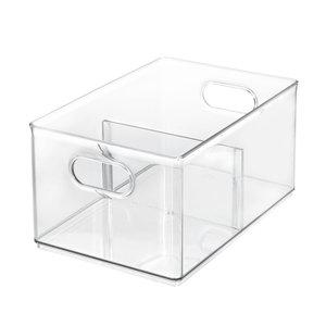 The Home Edit opbergbox met 2 vakken