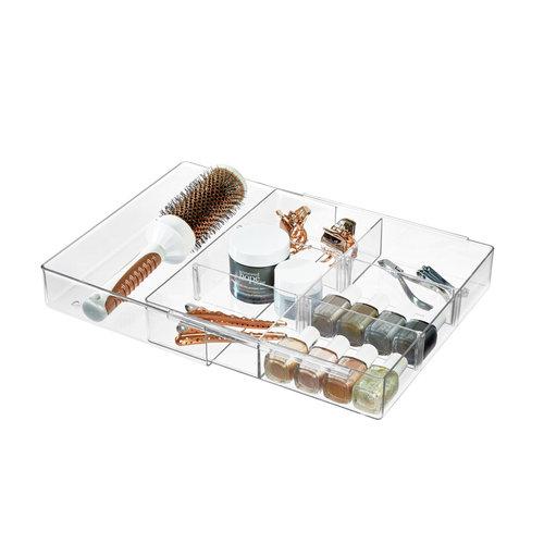 The Home Edit uitschuifbare lade organizer - Vanity   verplaatsbare verdeelstukken