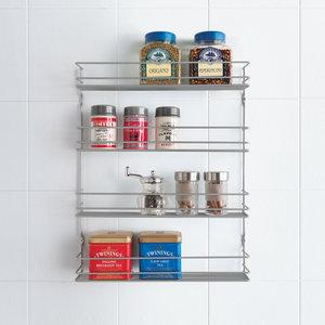 Kruidenrek keuken 4 etages (45 cm hoog) Metaltex