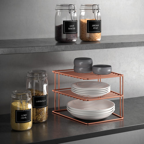 Tomado | Metaltex Hoekrekje keuken Metaltex - Copper edition