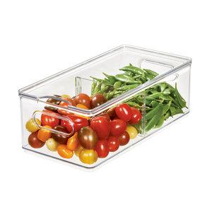 The Home Edit koelkast bak large (15 x 30,5 x 11 cm) met deksel