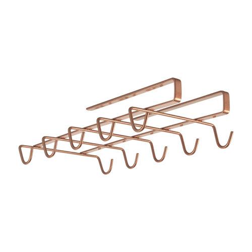 Kopjesrek onder plank Tomado | Metaltex - Copper edition