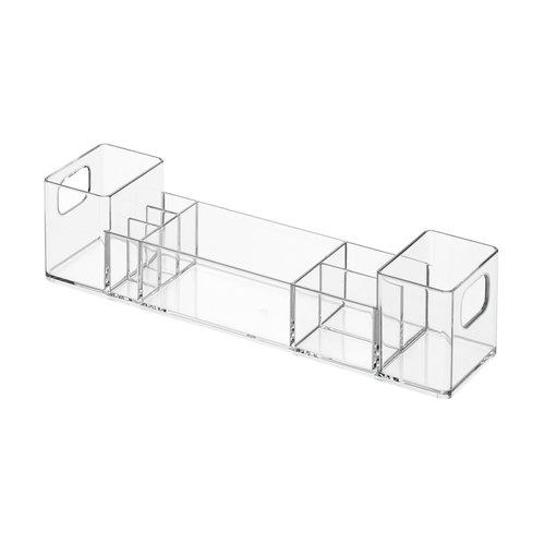 Sorteerbakje met handvatten badkamer iDesign - Clarity