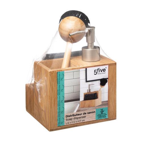 Gootsteen organizer bamboe incl. accessoires Five®