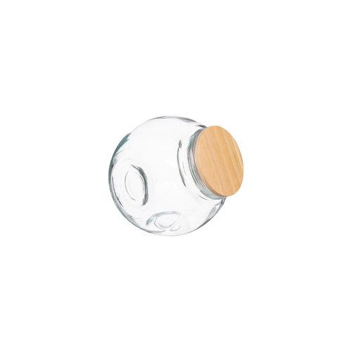 Five® Glazen voorraadpot met houten deksel Five®