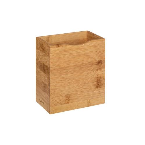 Magnetische bamboe bakjes buitenzijde koelkast Five®