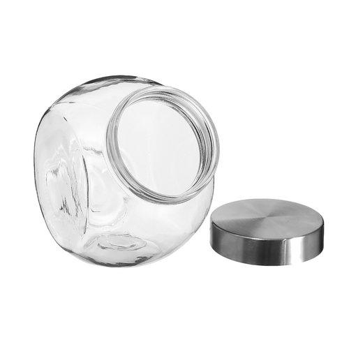 Five® Voorraadpotten glas met metalen deksel Five®