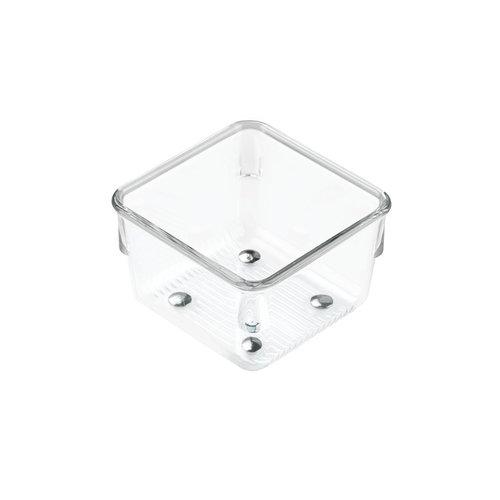 Lade indeling transparant 5,5 cm hoog iDesign  - Linus
