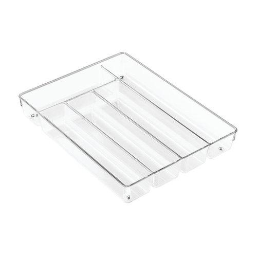 iDesign Lade indeling transparant 5,5 cm hoog iDesign  - Linus