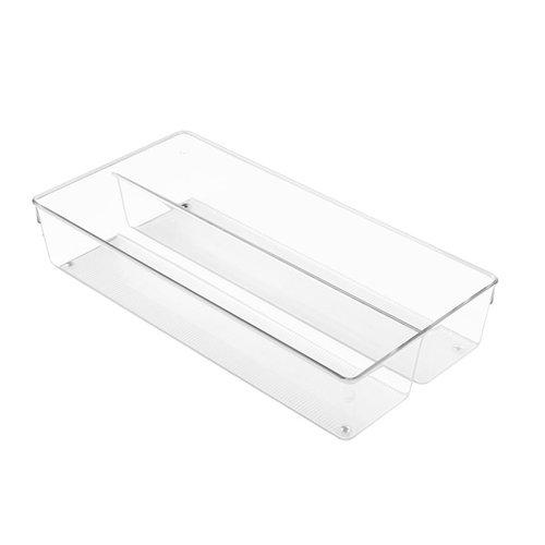 iDesign Ladebakjes transparant 8 cm hoog iDesign - Linus