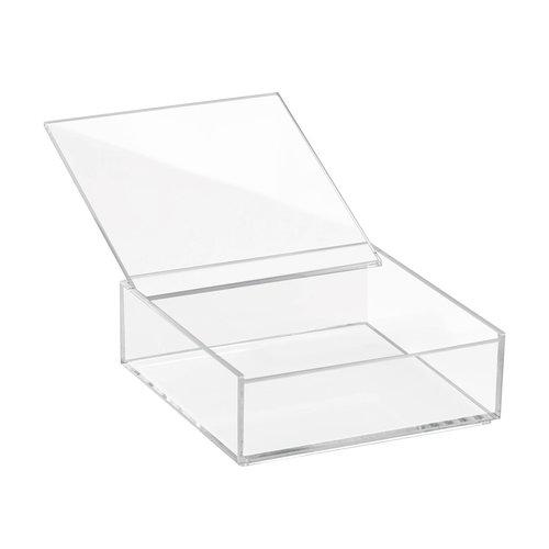 Opbergbakjes transparant met deksel iDesign - Clarity
