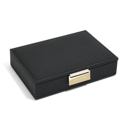Stackers Sieradendoos Stackers Mini - Black Gold
