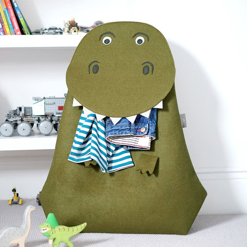 Opberg- wasmand kinderkamer little Stackers