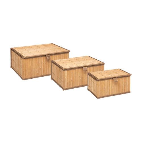 Five® Bamboe mandjes 3-delig Five®