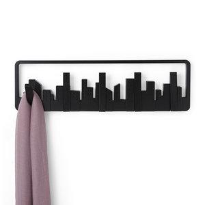 Design kapstok skyline uitklapbare haken UMBRA