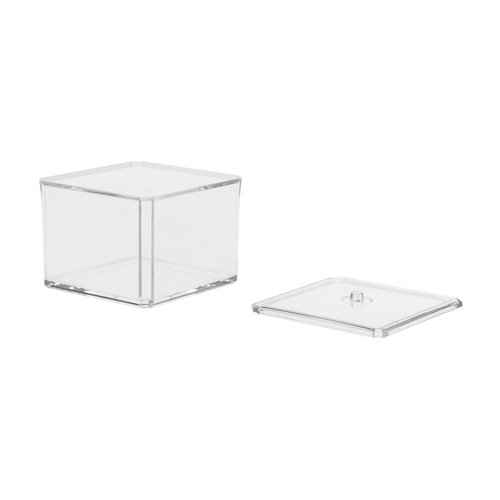 Transparant bakje met deksel | 2 varianten
