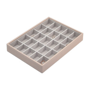 Sieradendoos Stackers Classic (25 secties) - Blush Pink