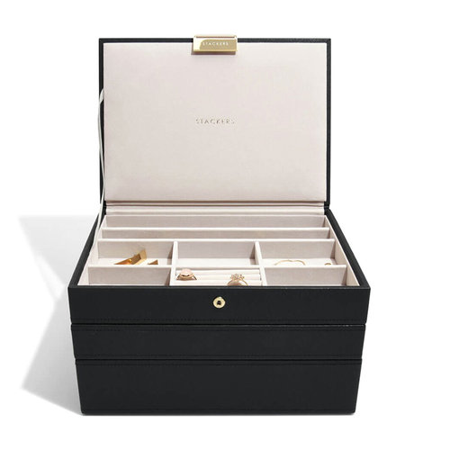 Stackers Sieradenbox Stackers Classic - Black Gold