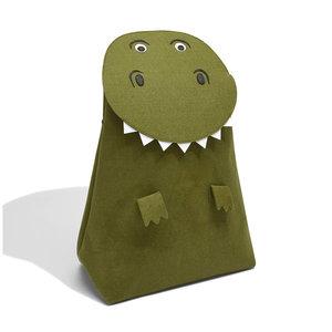 Opberg- wasmand kinderkamer (t-rex) little Stackers