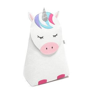 Opberg- wasmand kinderkamer (unicorn) little Stackers