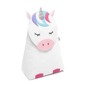 Opberg- wasmand kinderkamer (unicorn) little Stackers