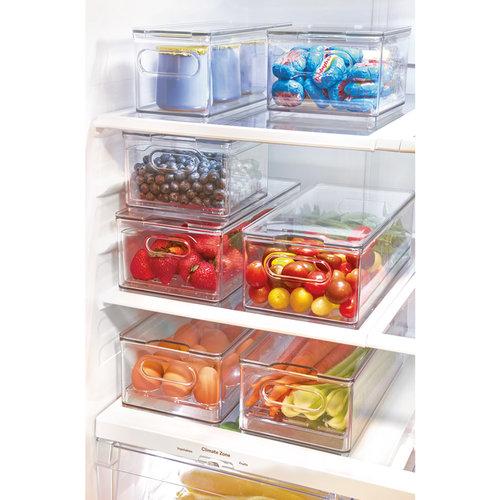 The Home Edit koelkast bakken met deksel | stapelbaar