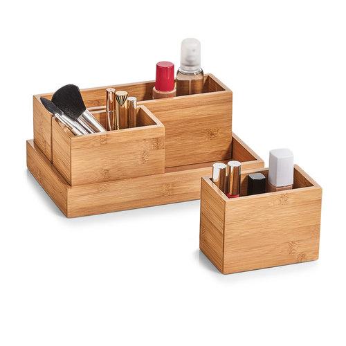 Bureau organizer hout 4-delig Zeller Present