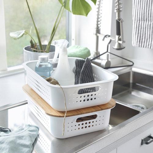 Opbergmanden wit Orthex - SmartStore Recycled