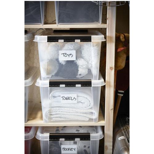 Labelhouders zelfklevend 12 stuks Orthex   inclusief papiertjes