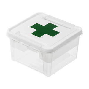 EHBO box uitneembare sorteerbak Orthex - Deco