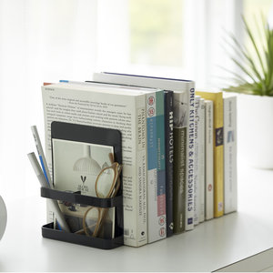 Boekenstandaard set met organizer Yamazaki