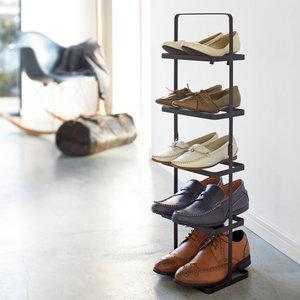 Verticaal schoenenrek met handvat Yamazaki