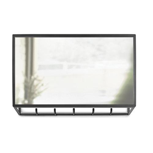 UMBRA Design spiegel hal met 5 ophanghaken UMBRAA