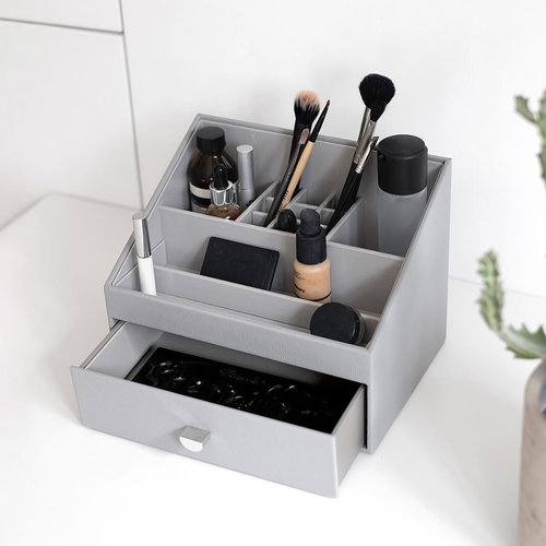Stackers Make-up opberger met lade Stackers - Grey Pebble