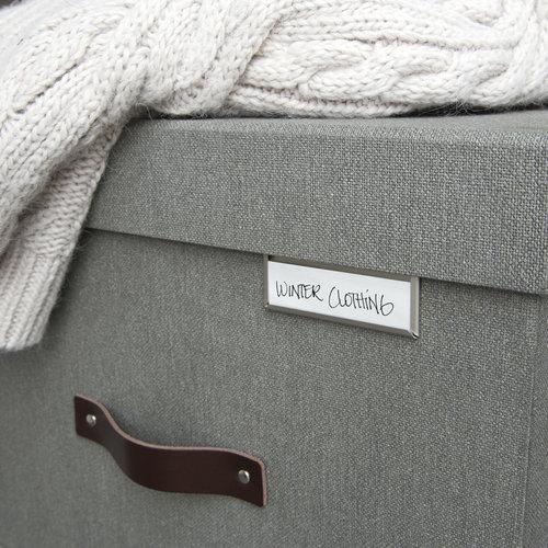 Bigso Box of Sweden Labelhouder 4 stuks Bigso - Labelhouders