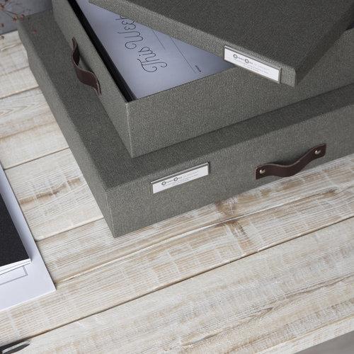 Bigso Box of Sweden Metalen labelhouder 4 stuks Bigso - Labelhouders