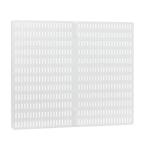 Elfa Perfoplaat ophangbord wit Elfa