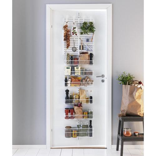 Elfa wit multifunctioneel deurrek | Stel zelf samen