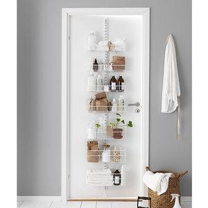 Elfa badkamer deurrek wit