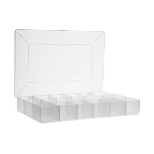 Five® Plastic opbergbox met vakjes Five®