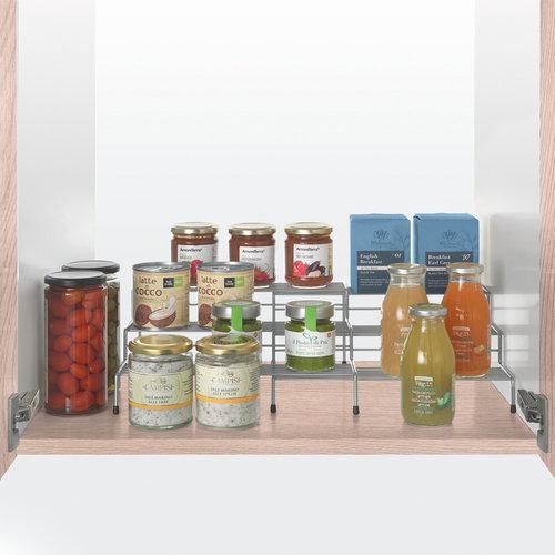 Tomado   Metaltex Potten en kruidentrap uitschuifbaar Metaltex - Smart Kitchen