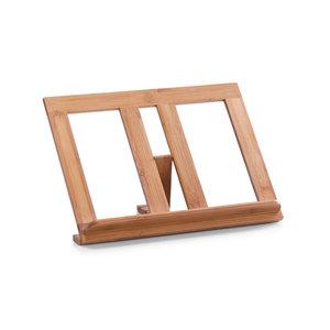 Tablet en kookboekstandaard hout Zeller