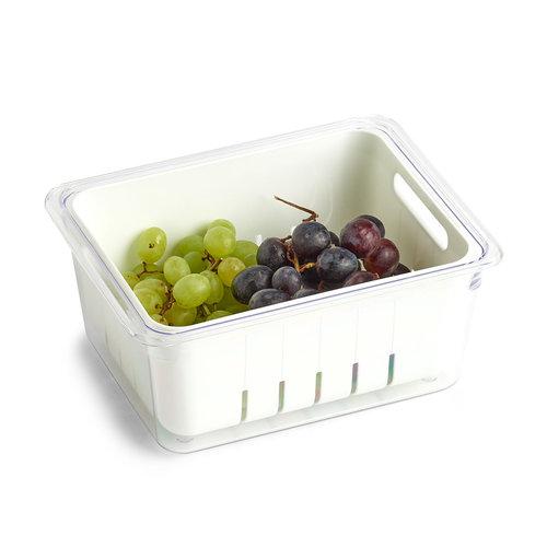 Groente en fruit bakjes koelkast Zeller Present   stapelbaar