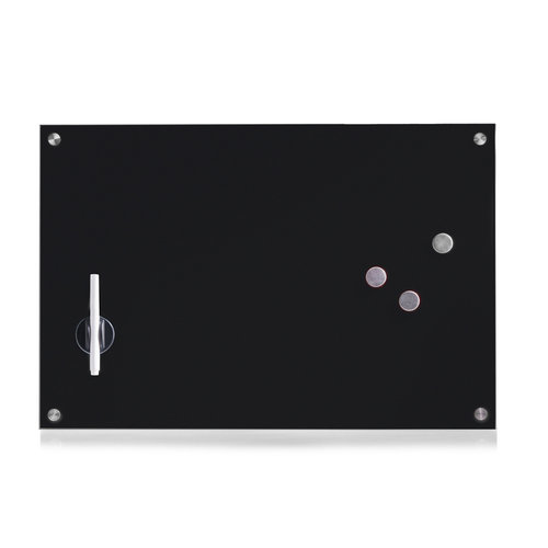 Memobord whiteboard 60 x 40 cm Zeller Present | inclusief accessoires