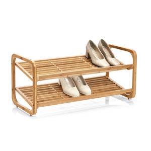 Schoenenrek hout stapelbaar Zeller