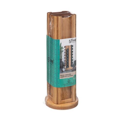 Capsulehouder bamboe Five®